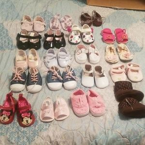 19 pairs!!!! Infant girl lot